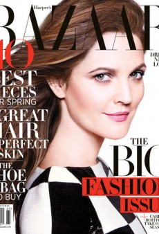 A Fresh-Faced Drew Barrymore Covers Harper's Bazaar's March 2013 Issue (Forum Buzz)