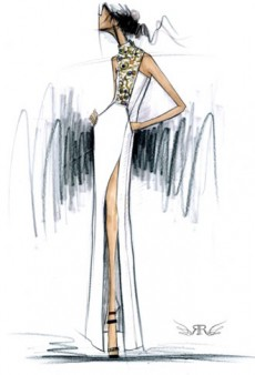 Fashion Week Preview: Designers Share Fall 2013 Sketches and Inspiration