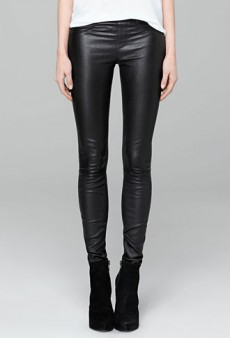 What We Bought: Back to Black (Mostly) with Helmut Lang Leather Leggings and More (Forum Shopaholics)