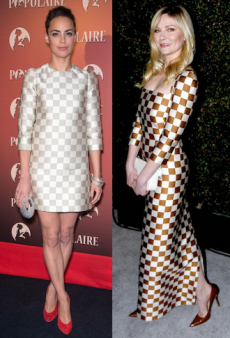 Check Yourself: Get the Checkered Louis Vuitton Spring 2013 Look That Celebs Love