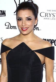 Look of the Day: Eva Longoria's Angular Cushnie et Ochs Spring 2013 Dress