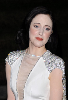 If We Were the Stylist, Andrea Riseborough Wouldn't Be Frowning Over This Botched Beauty Look (& Other Celeb Style Fixes)