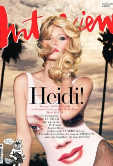 You'll Either Love or Hate Heidi Klum's Interview Germany Cover