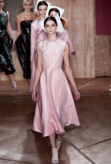 Roksanda Ilincic Fall 2013 Runway Review