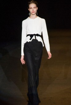 Alberta Ferreti Fall 2013 Runway Review