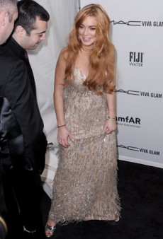 Lindsay Lohan Destroyed a $1,750 Loaner Gown, Probably As a Favor