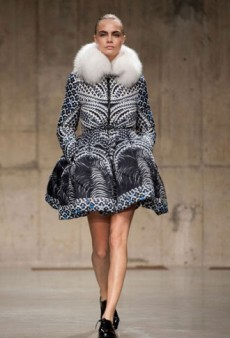 Cara Delevingne's Most Memorable LFW Fall 2013 Looks