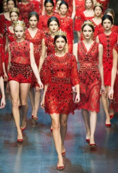 Dolce & Gabbana Fall 2013 Runway Review