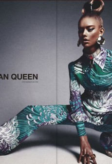 "Numero's Racist ""African Queen"" Editorial Stars White Model Ondria Hardin in Blackface [UPDATE]"