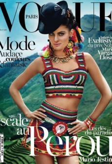 Even Isabeli Fontana Can't Save Mario Testino's Tacky Vogue Paris Tribute to Peru