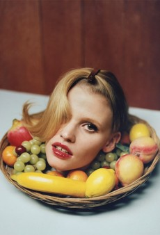 i-D Serves Up Lara Stone's Head on a Platter