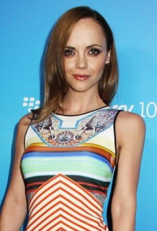 Look of the Day: Christina Ricci's Clover Canyon Cool Rider Dress