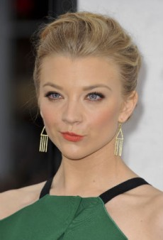Go Coral for Spring Like Natalie Dormer