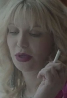 Courtney Love Tops Her Saint Laurent Campaign With a Commercial for NJOY Electronic Cigarettes