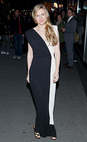 Brit Marling in Viktor & Rolf