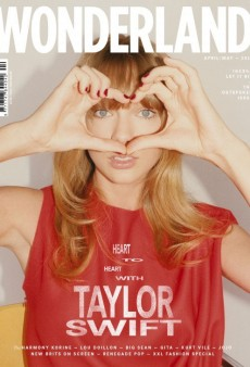 Look, It's Taylor Swift On the Cover of Wonderland