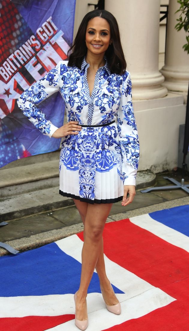 Alesha Dixon Britains Got Talent press launch London