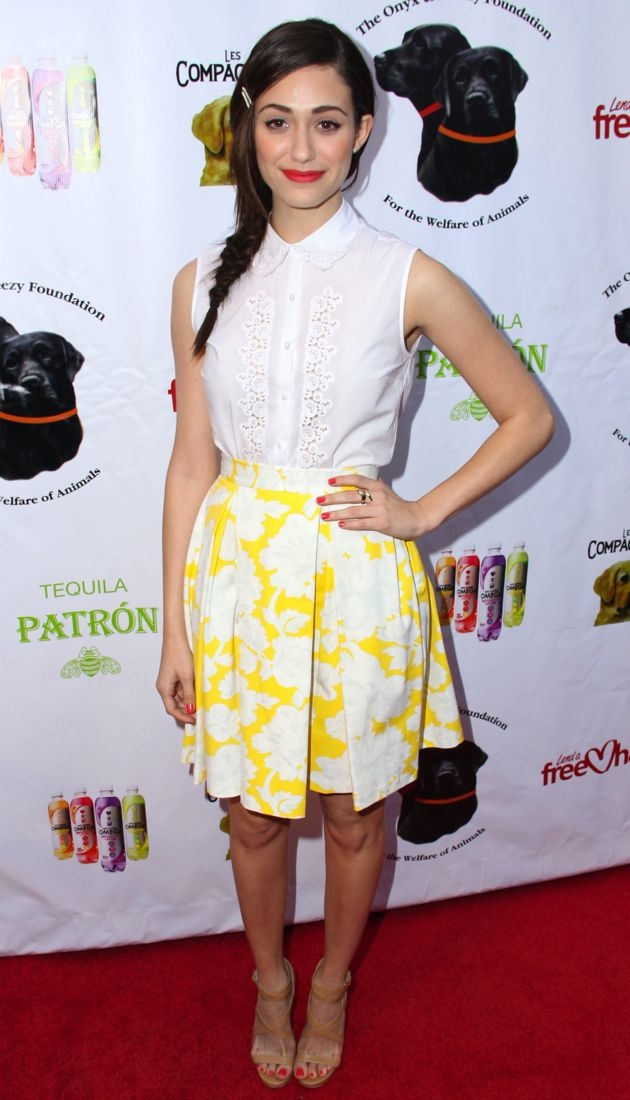 Emmy Rossum The Onyx And Breezy Foundation Saving Tails Fundraiser Hollywood