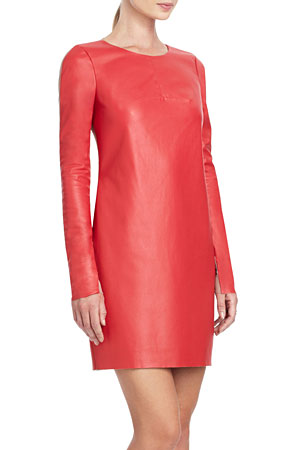 BCBG leather dress - forum buys