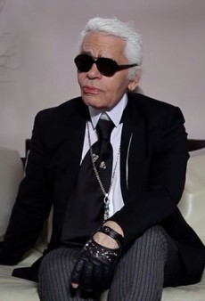 Karl Lagerfeld Gives Genius Advice: Don't Give Other People Advice