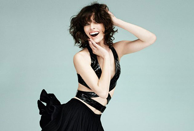 Vogue Turkey May 2013 - Milla Jovovich