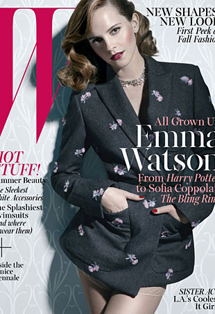 The Jurys Still Out on Emma Watsons June/July W Cover (Forum Buzz)