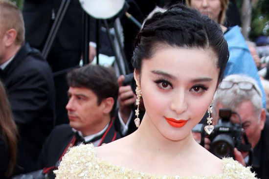 Brighten Up Your Look with Fan Bingbing&#8217;s Orange Lip