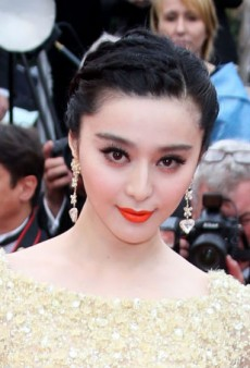 Brighten Up Your Look with Fan Bingbing's Orange Lip