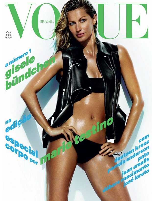 Gisele for Vogue Brazil / via Vogue.Globo.