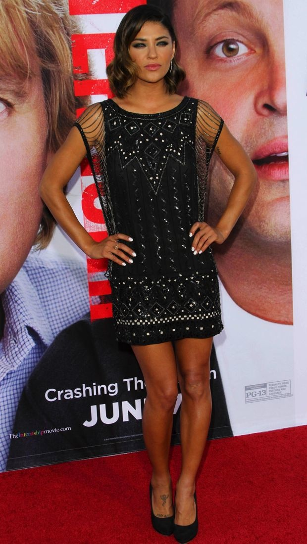 Jessica-Szohr-Los-Angeles-Premiere-of-The-Internship