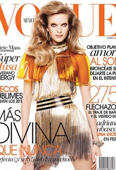 Mirte Maas is Just Meh on Vogue Mexico's June Cover (Forum Buzz)