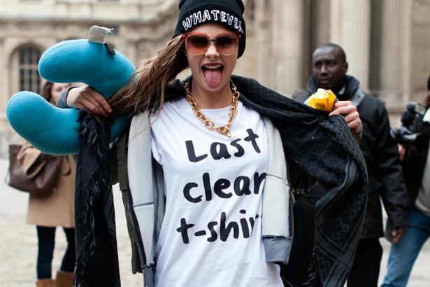 Cara Delevingne - Last Clean T-Shirt