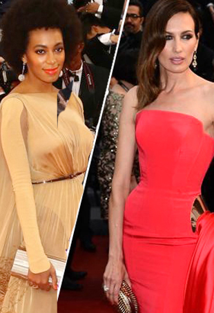The Bold and Beautiful: Celebs Work the Cannes Red Carpet in Dramatic Fashion