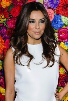Look of the Day: Eva Longoria Hits the Big Apple in Head-to-Toe Salvatore Ferragamo