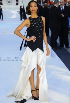 Zoe Saldana Vamps It Up in Vionnet and Other Best Dressed Celebs of the Week