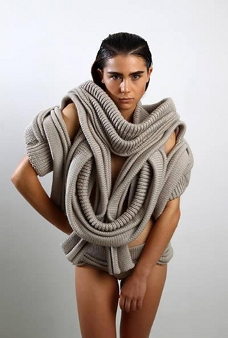 Cool wool sweater