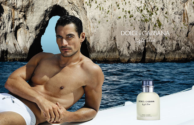 Lets just admire david gandy and bianca balti in dolce gabbanas dolce gabbana light blue david gandy aloadofball Choice Image