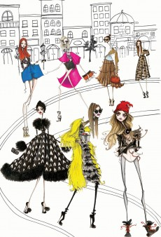 Exclusive: Cara Delevingne, Anna Dello Russo and Others Get Sketched for V Magazine