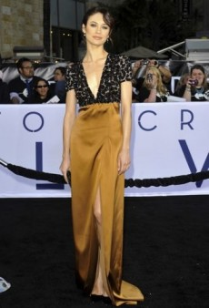 Rising Style Star Olga Kurylenko Continues Her Red Carpet Reign