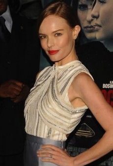 Look of the Day: Kate Bosworth Steps Out in Ornate Silver Miu Miu Dress