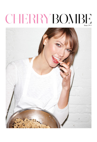 Cherry Bombe cover with Karlie Kloss