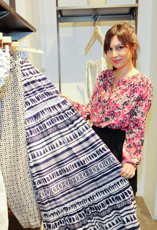 Stylist Nicole Chavez