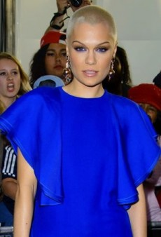 Jessie J Rocks an Electric Blue Gucci Ensemble at the Glamour Women of the Year Awards