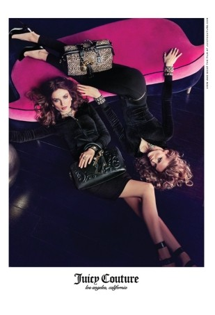 Andreea Diaconu and Edita Vilkeviciute Look Sexy in Juicy Couture Fall 2013 Campaign (Forum Buzz)
