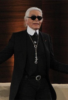 Link Buzz: Karl Lagerfeld Shares Some More Opinions; The Ultimate Top Knot
