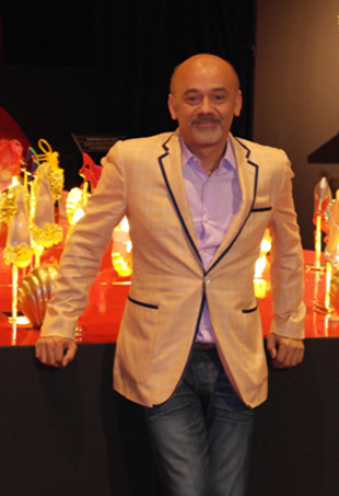 Exclusive christian louboutin at the toronto design exchange