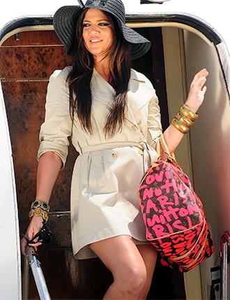 Khloe Kardashian Louis Vuitton