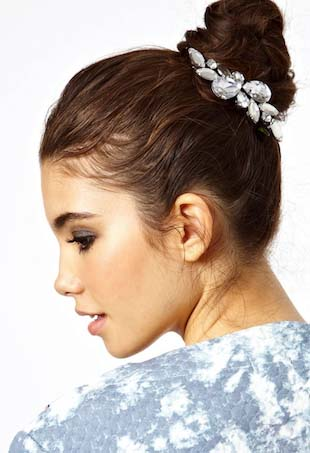 hair accessories portrait