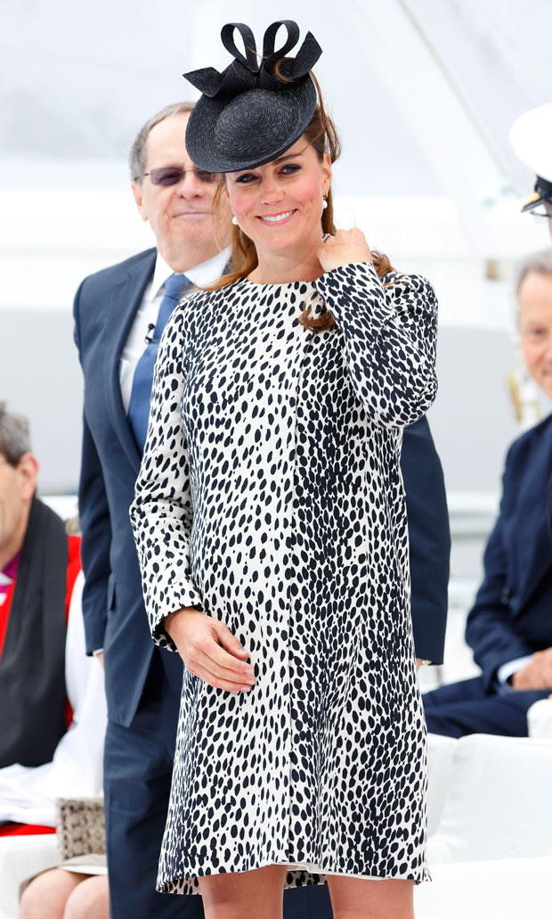 Catherine, Duchess of Cambridge attends the naming ceremony for the new Princess Cruises ship 'Royal Princess' on June 13, 2013 in Southampton, England.