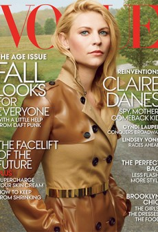 Does Getting Older Really Suck This Much? Claire Danes on the Cover of Vogue's 'Age Issue'